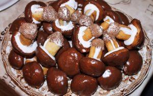 Çikolatalı Mantar Kurabiye Tarifi