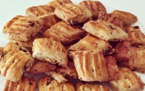 Üzümlü Cevizli Pastane Kurabiyesi Tarifi