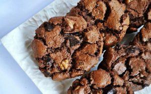 Cevizli Damla Çikolatalı Kurabiye Tarifi