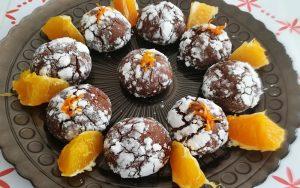 Portakallı Kakaolu Kurabiye Tarifi