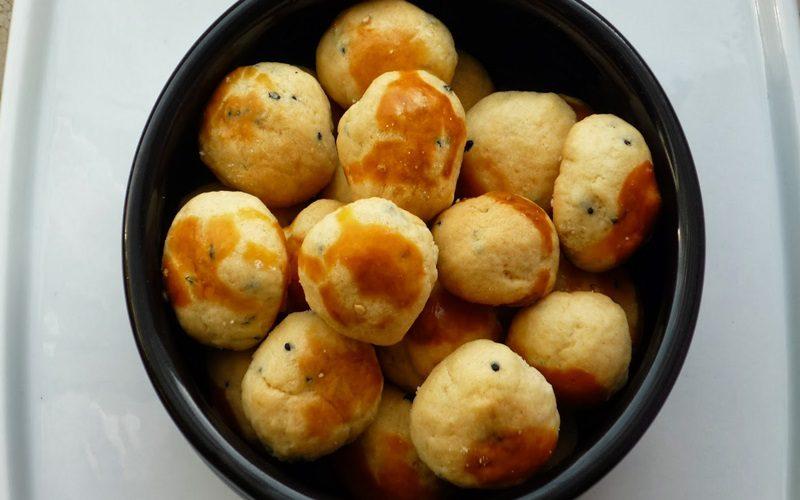Çörek Otlu Fındık Kurabiye Tarifi