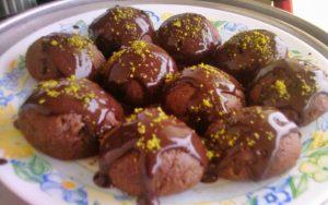 Çikolatalı Şerbetli Kurabiye Tarifi