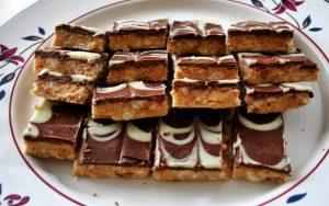 Snickers Kurabiye Tarifi