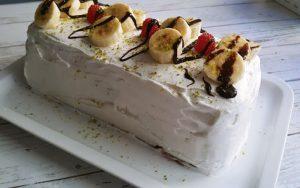 Buzlukta Bisküvili Pasta Tarifi