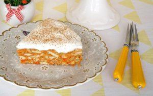 Havuçlu Krem Şantili Mozaik Pasta Tarifi