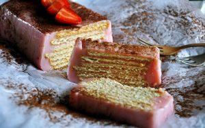 Hazır Pudingli Bisküvili Pasta Tarifi