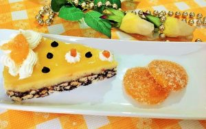 Portakal Jöleli Bisküvili Pasta Tarifi