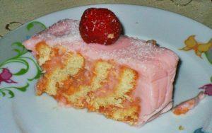 Pudingli Bisküvili Kolay Pasta Tarifi