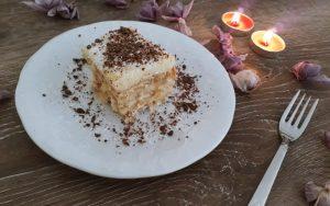 Pudingli İrmikli Bisküvili Pasta Tarifi