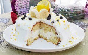 Beyaz Yaş Pasta Tarifi