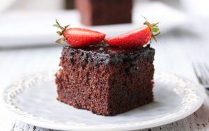 Çikolata Soslu Browni Kek Tarifi