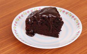 Çikolatalı Soslu Kek Tarifi