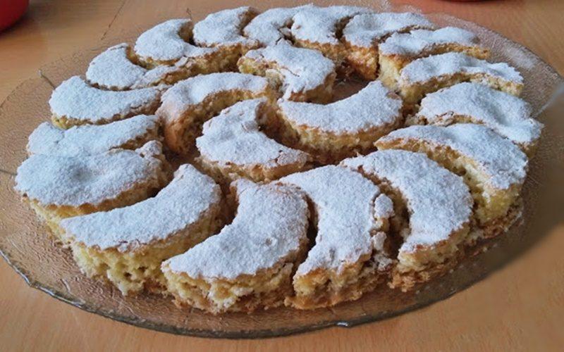 Elmalı Bisküvili Kek Tarifi