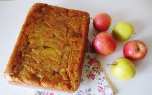 Elmalı Yoğurtlu Kek Tarifi