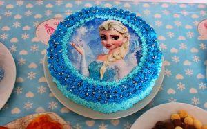 Elsa Yaş Pasta Tarifi