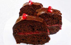 Meyveli Çikolatalı Pasta Tarifi