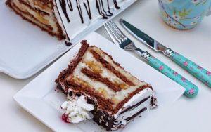 Petibörlü Muzlu Pasta Tarifi