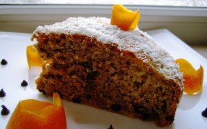 Portakallı Cevizli Tarçınlı Kek