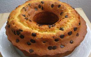 Portakallı Damla Çikolatalı Kek Tarifi
