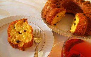 Portakallı Üzümlü Kek Tarifi