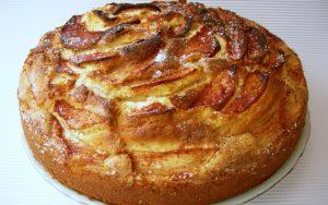 Elma Dilimli Tarçınlı Kek Tarifi
