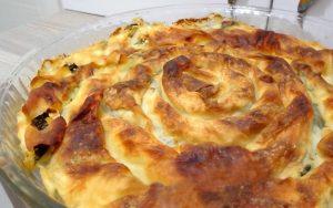 Fırında Ispanaklı Börek Tarifi