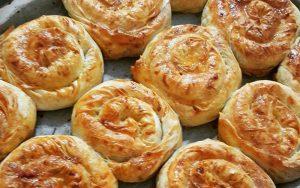 Hazır Yufkadan Patatesli Gül Böreği Tarifi