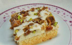 İncirli Kremalı Pasta Tarifi