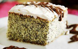 İrmikli Haşhaşlı Kek Tarifi