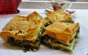 Ispanaklı Peynirli Börek Tarifi