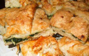 Ispanaklı Peynirli Sodalı Börek