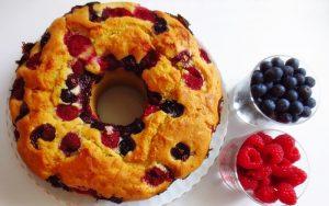 Kalıpta Meyveli Kek Tarifi