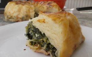 Kek Kalıbında Ispanaklı Börek Tarifi