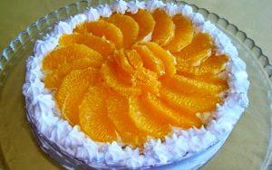 Kolay Portakallı Pasta Tarifi