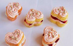Küçük Kalpli Pasta Tarifi