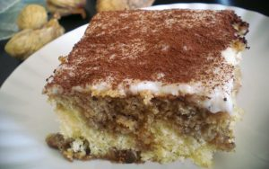 Kuru İncirli Pasta Tarifi