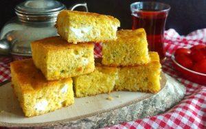 Pırasalı Peynirli Kek Tarifi