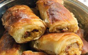 Patatesli Kıvrım Böreği Tarifi