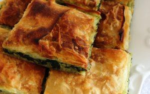 Ispanaklı Peynirli Sodalı Börek Tarifi