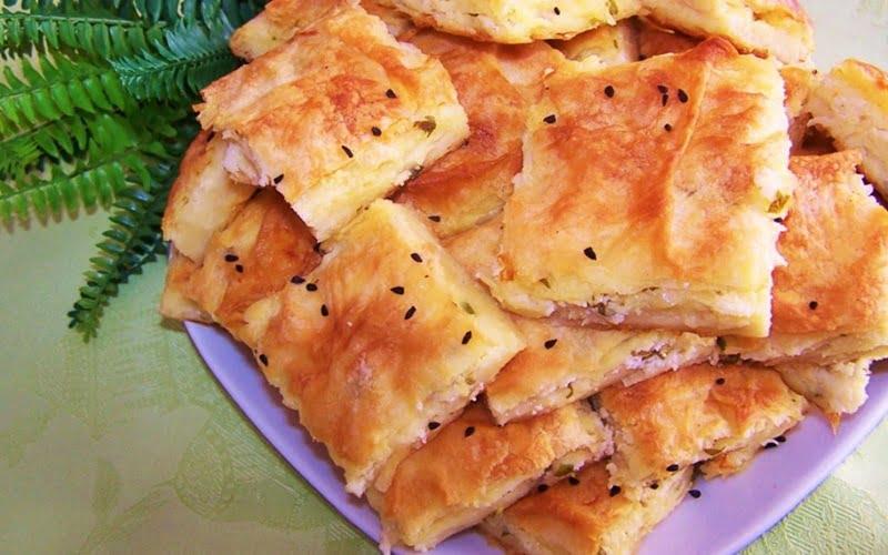 Sodalı Peynirli Tepsi Böreği Tarifi