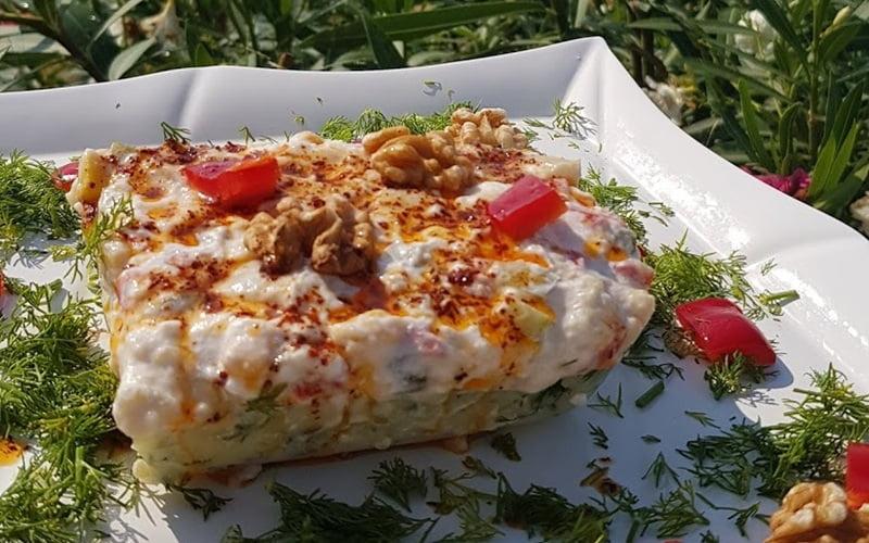 Borcamda Patates Salatası Tarifi