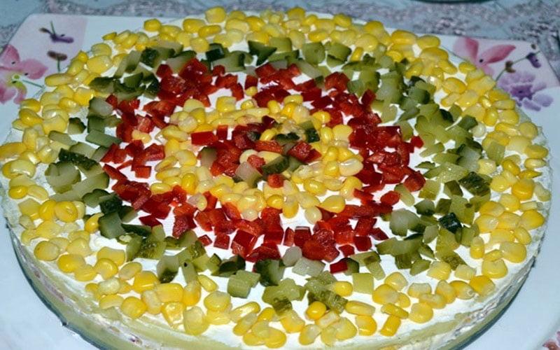 Garnitürlü Patates Salatası Tarifi