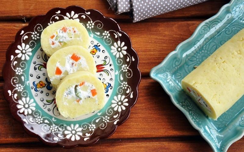 Garnitürlü Rulo Patates Salatası Tarifi
