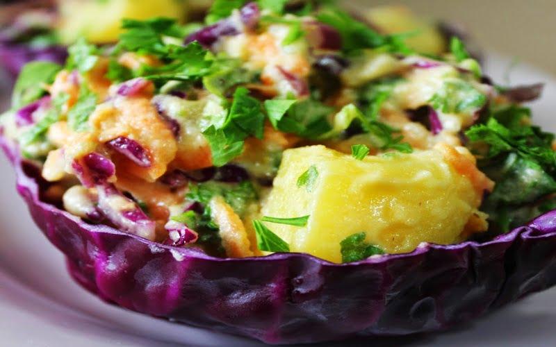 Hardallı Mayonezli Patates Salatası Tarifi