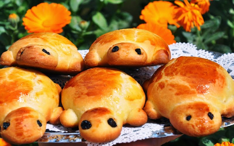 Kaplumbağa Poğaça Tarifi