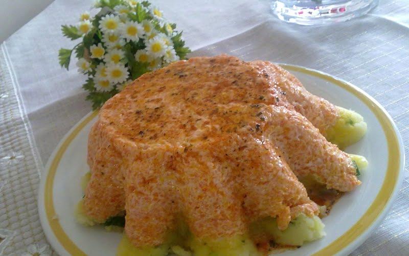 Kek Kalıbında Patates Salatası Tarifi