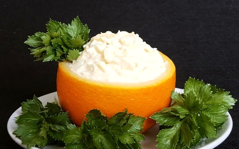 Portakallı Salata Tarifi