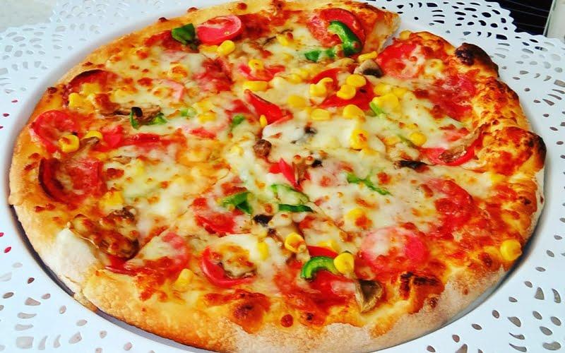 10 Kişilik Pizza Tarifi