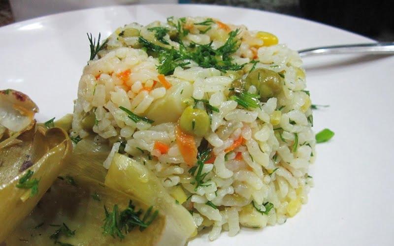 Zeytinyağlı Pirinç Pilavı Tarifi