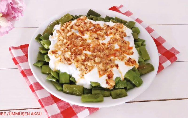 Yaz Aylarının Favorisi Fasulye Salatası Tarifi